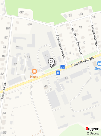 Служба Коммунального Сервиса на карте