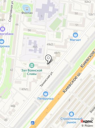 Зал Воинской Славы на карте