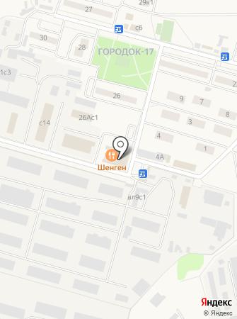 Шенген на карте