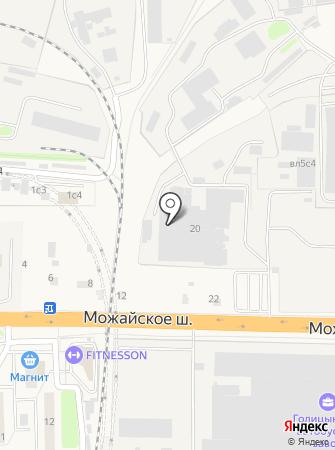 Одинцовская кондитерская фабрика на карте