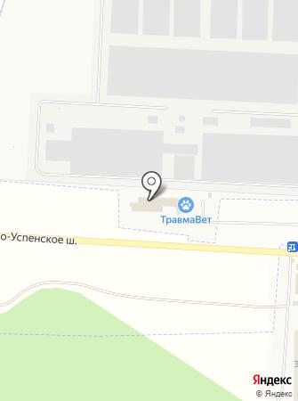 Белан на карте