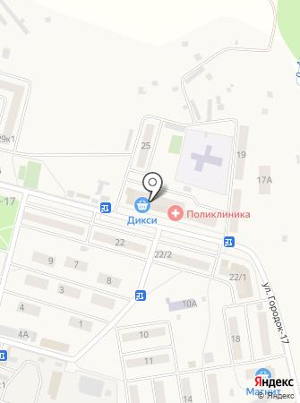 Голицынская поликлиника на карте