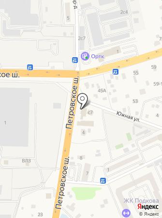 Автомойка на Петровском шоссе на карте