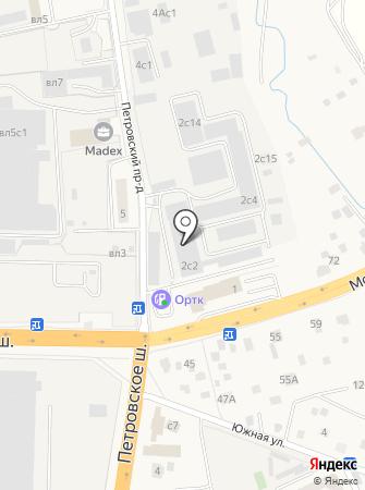 Театр Тканей на карте