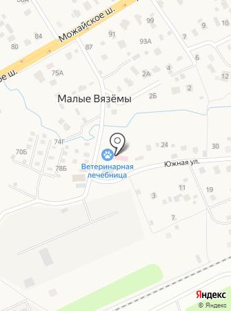 Голицынская участковая ветеринарная лечебница на карте