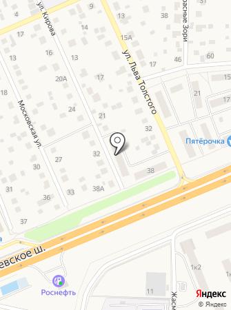 Почтовое отделение №143362 на карте