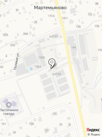Консет Рус на карте
