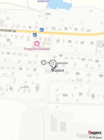 Классическая на карте