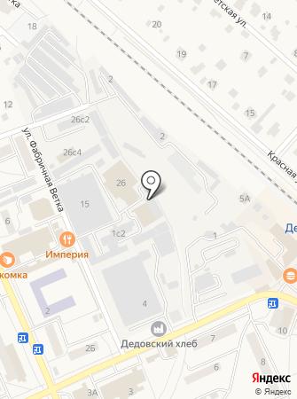 СДМ на карте