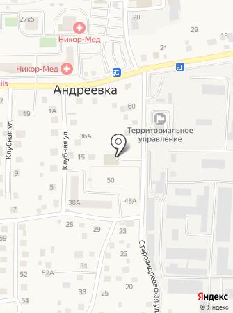 МТИ на карте