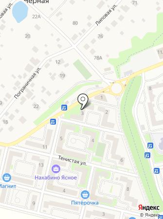 ЛСР. Недвижимость-М на карте