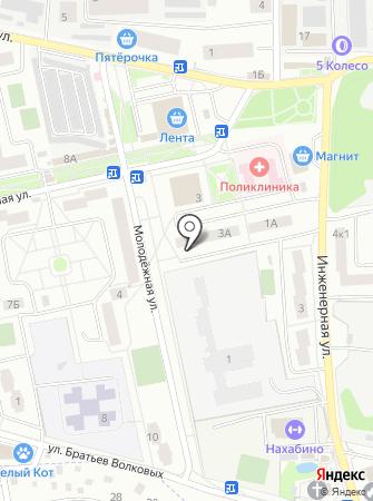 Сова на карте