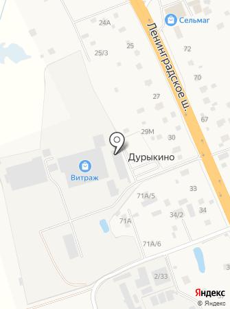 Витраж на карте