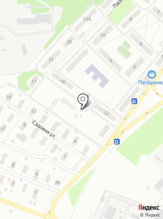 Автостоянка на Парковой на карте