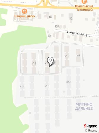 Митино Дальнее на карте