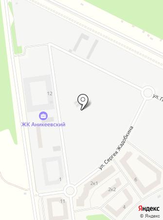 Лесобережный на карте