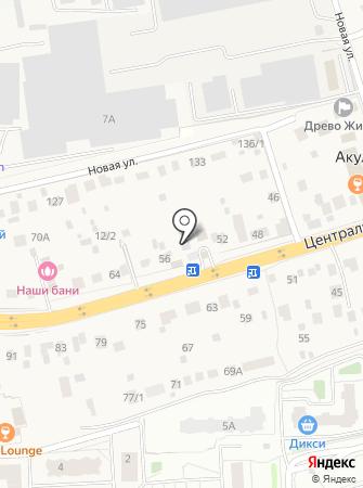 Кузов Маркет на карте