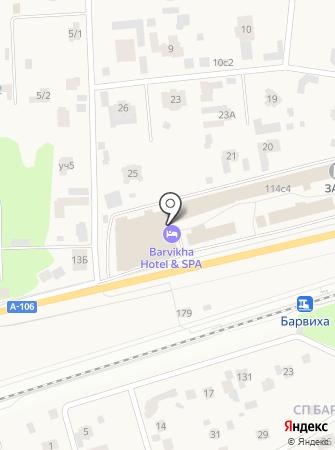 Barvikha hotel & spa на карте