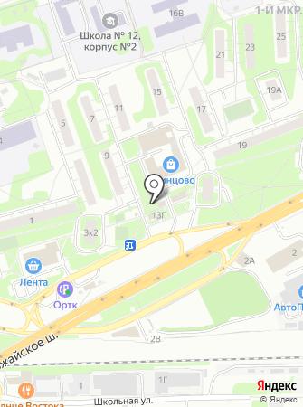 Ауто Нита на карте