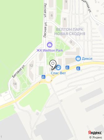 Спас-Вет на карте
