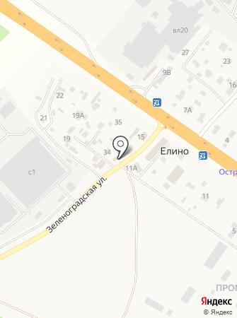 Елино на карте