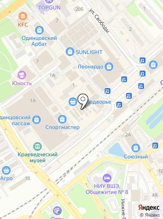 Магазин колбасных изделий и сыров на карте