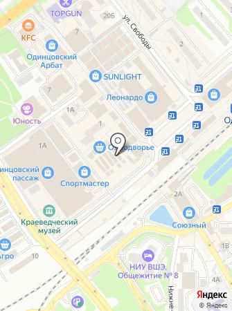 Магазин консервированной продукции на карте
