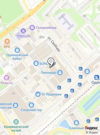 Анор на карте