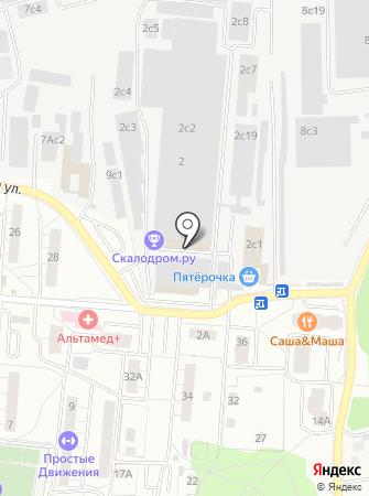 Krasivo.org на карте