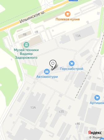 Забудова Строй Комплект на карте