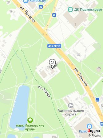 15-й отряд ФПС по Московской области на карте