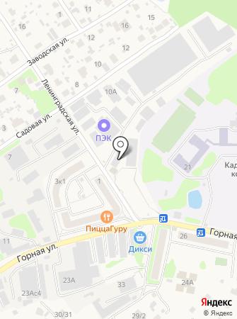 Автосервис на Ленинградской на карте