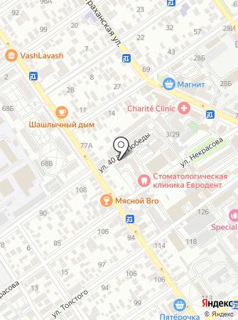 Жюли на карте
