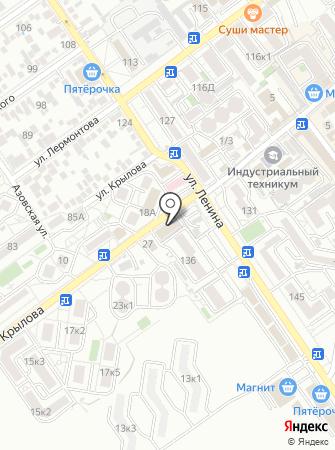 Цитрус на карте