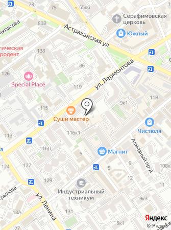 Газель на карте