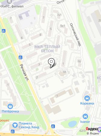 Красногорское территориальное управление силами и средствами на карте