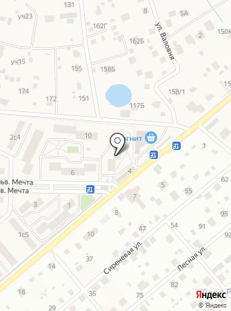 Озерецкая амбулатория на карте