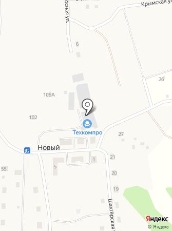 ТехКомПро на карте