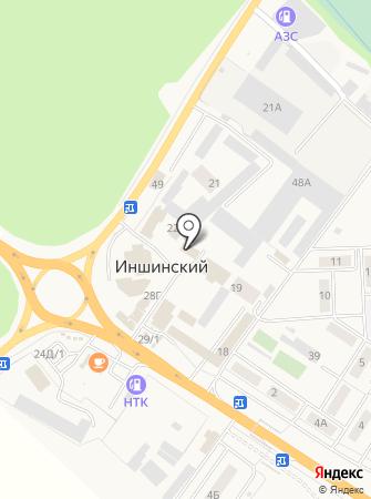 Маленький на карте