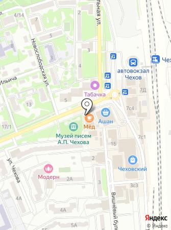 StyleMed на карте