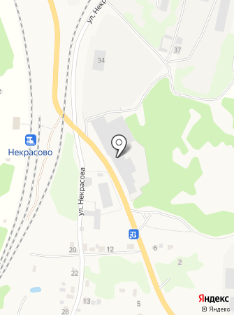 Фабрика современной мебели на карте