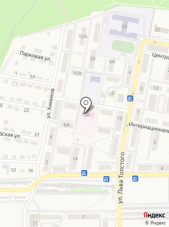 Тульский областной наркологический диспансер №1 на карте