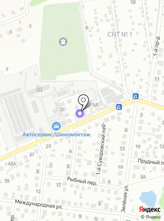 Оргстройизыскания на карте
