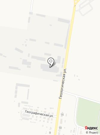 Красногоровский огнеупорный завод на карте