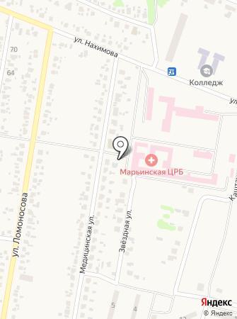Магазин овощей и фруктов на ул. Маяковского на карте