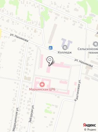 Красногоровская амбулатория общей практики семейной медицины на карте