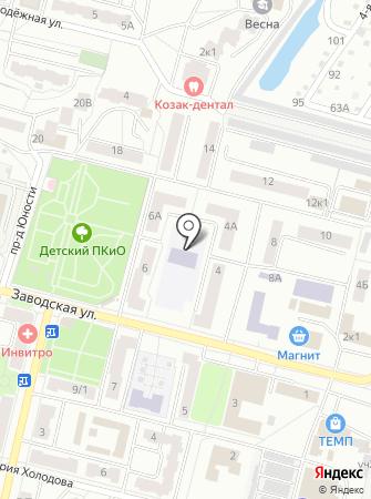 Муниципальный центр дополнительного образования на карте