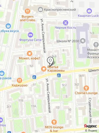 Жилищник Пресненского района, ГБУ на карте