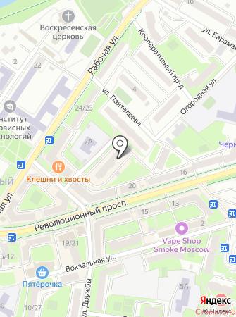 Шлёпа на карте