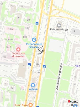 Автоплов на карте